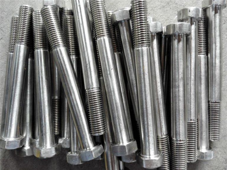 inconel 600 પર 2.4816 નિકલ બોલ્ટ ઉત્પાદન મશીનરી કિંમત
