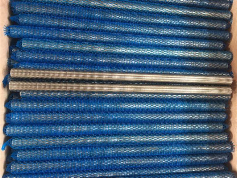 નિકલ એલોય inconel601 / 2.4851 ટ્રેપેઝોઇડલ થ્રેડેડ લાકડીનો નવો માલ